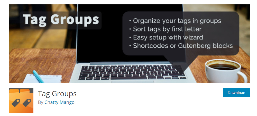 Tag Groups - WordPress tag management plugin