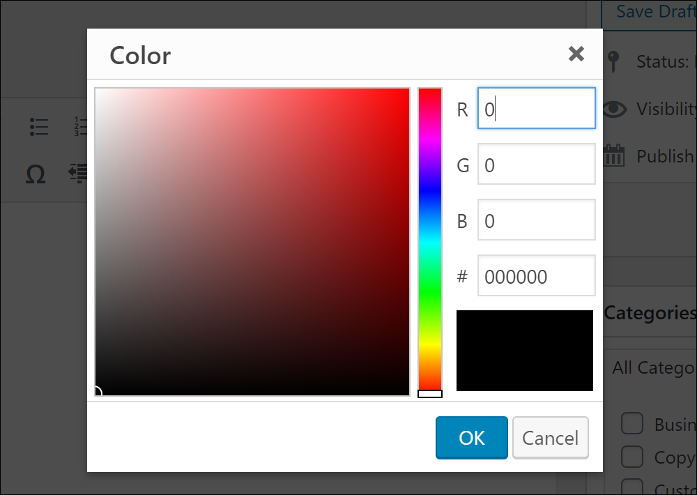 Color feature