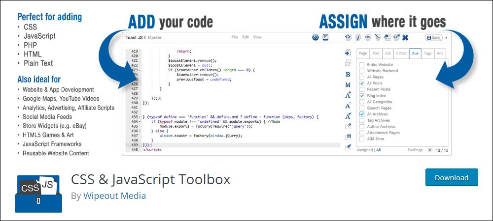 CSS & JavaScript Toolbox (CJT)