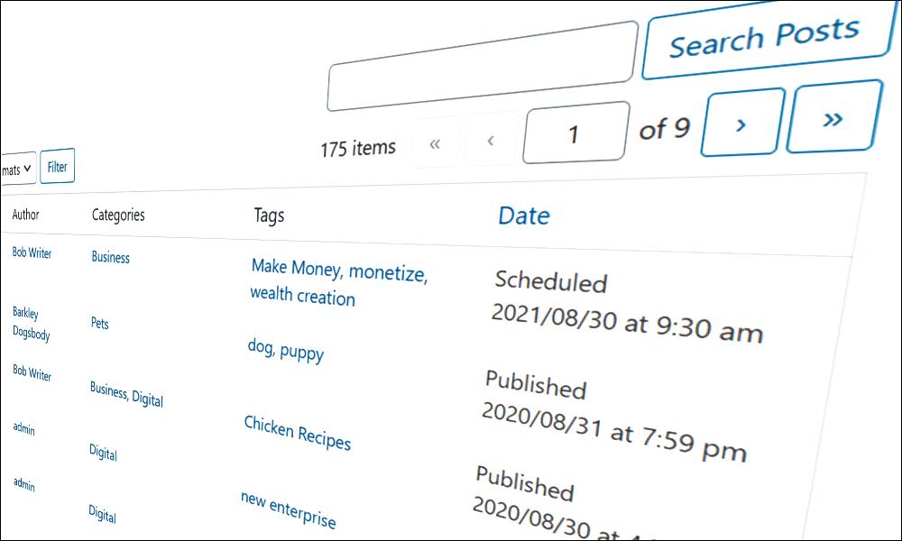 How To Schedule Posts In WordPress.