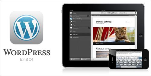 WordPress for iOS.