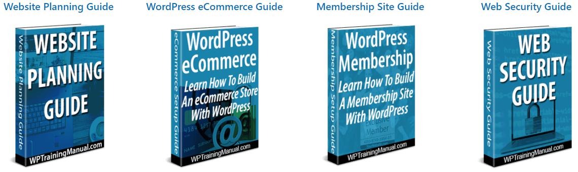 Downloadable WordPress Guides