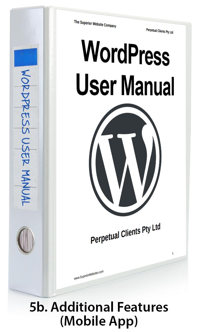 WordPress User Manual Part 5b - WordPress Mobile App